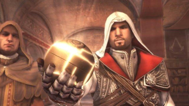 Der runde Edenapfel aus Assassin's Creed