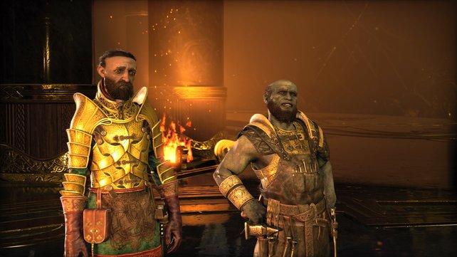 Sindri und Brok erlauben euch das Upgrade eurer Leviathanaxt auf Level 6. Dafür wollen sie aber einen bestimmten Gegenstand von euch haben.