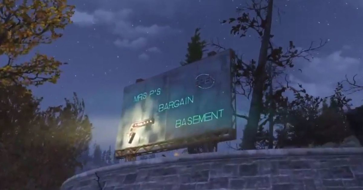Fallout 76 | Spielerin baut beeindruckendes Camp unter der Map