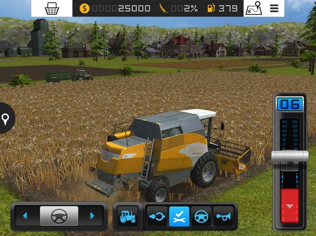 Mit dem richtigen Feldgerät macht die Ernte gleich doppelt Freude.