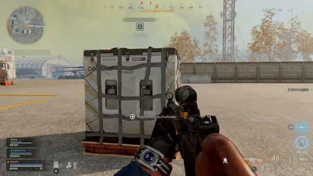 Falls ihr das noch nicht wusstet: Diese Boxen liefern euch eigene Ausrüstung.