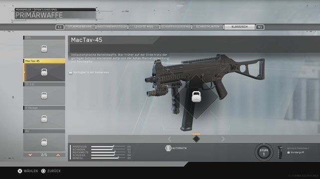 MacTav-45: Ein echter Klassiker unter den Maschinenpistolen.