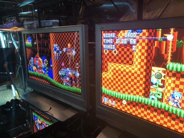 Die Gaming-Lounge von Sega