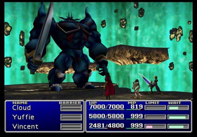 """Das frühere """"Final Fantasy""""-Kampfsystem mag heute etwas langsam wirken."""