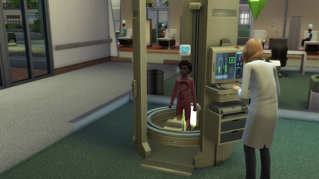 Das Röntgengerät ist sehr hilfreich, falls die normalen Untersuchungen nicht ausreichen.