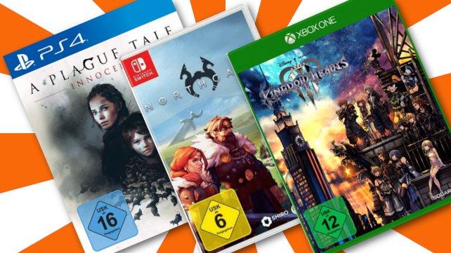 Jetzt noch zuschlagen: 3 Games für 47 Euro bei MediaMarkt!