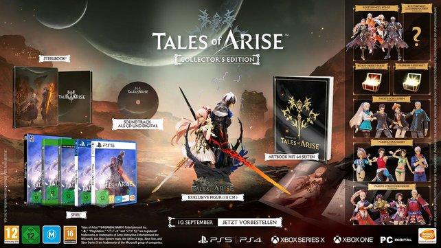 Die Figur gibt es nur in der Collector's Edition von Tales of Arise.