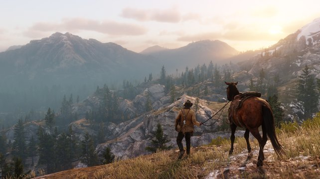 Die schöne Ruhe in Red Dead Redemption 2: Online ist sie mit schlechten Internet erreichbar.