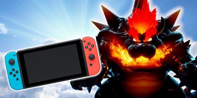 Was ist wohl mächtiger: Die Nintendo Switch Pro oder Bowser? Bildquelle: Getty Images / RomoloTavani