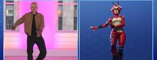 Fortnite: Jimmy Fallon scheitert an den Tanzeinlagen