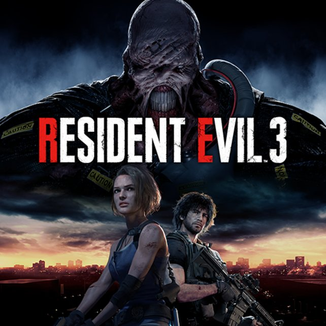 Resident Evil 3 Remake: Das Cover der internationalen Version.