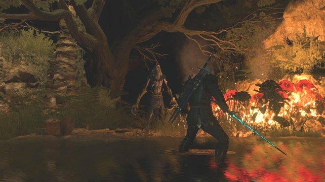 Brennt alles nieder, damit der Grottore sein Versteck verlässt.