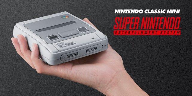 Heiß begehrt: Das SNES Classic Mini.