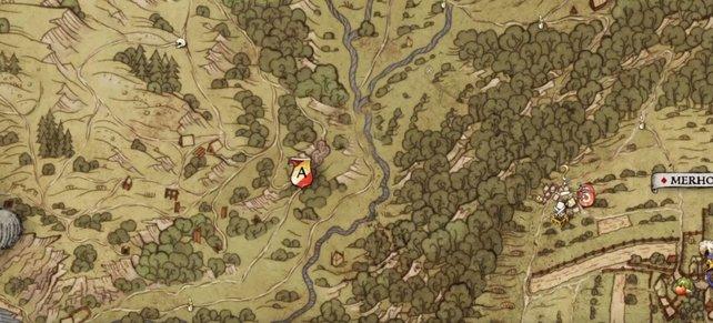 Hier befindet sich ein Lager und zeitgleich der Mineneingang der Skalitzer Hügel, wo sich auch Jeschek aufhält.