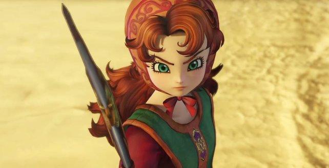 Maribel nutzt einen Bumerang, um Feinde aus großer Entfernung anzugreifen.
