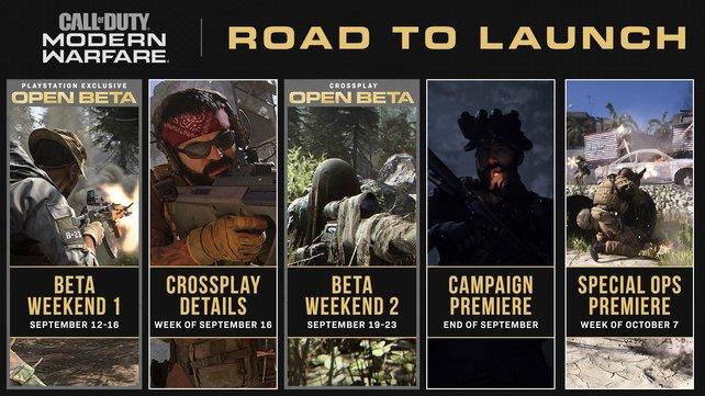 Die nächsten Wochen für Call of Duty: Modern Warfare werden spannend.