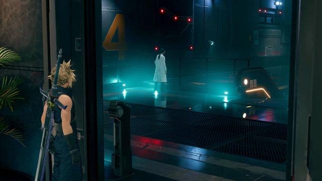 Hojo, der Leiter der Forschungsabteilung ist derjenige, der Aerith gefangen hält. Verfolgt ihn und sucht nach Aerith!