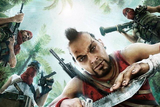 Kommt auf Deutsch wahnsinnig gut und gut wahnsinnig rüber: Vaas, der Oberfreak aus Far Cry 3