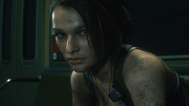 Jill Valentine muss gar nicht skeptisch schauen: Die Neuauflage von Resident Evil 3 weiß insgesamt zu überzeugen.