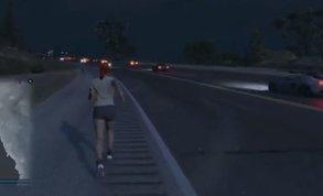 Spieler will Map zu Fuß durchqueren