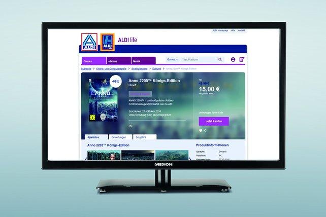 Aldi life Games will zum Start direkt mit vielversprechenden Angeboten glänzen.