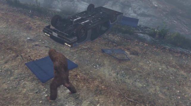 Ihr könnt nur in der Gestalt des Bigfoot den Teen Wolf aufspüren!