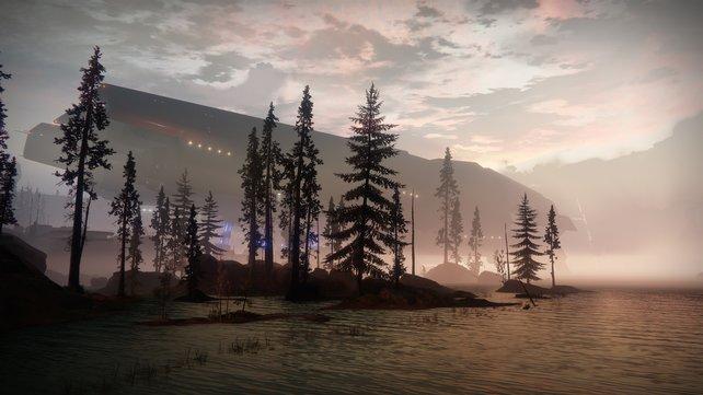 Die Europäische Todeszone ist einer der neuen Schauplätze von Destiny 2.