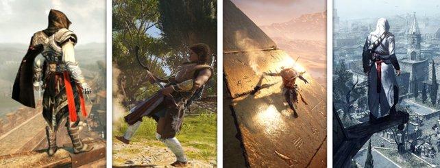Assassin' Creed hat schon große Teile der Menschheitsgeschichte abgedeckt.