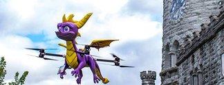 Panorama: Activision schickt Drachen-Drone zu Snoop Dog