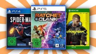 PC-, Xbox-, PS4- und PS5-Spiele im Sparpaket