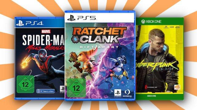Bei MediaMarkt könnt ihr euch 3 Spiele für den Preis von 2 sichern.