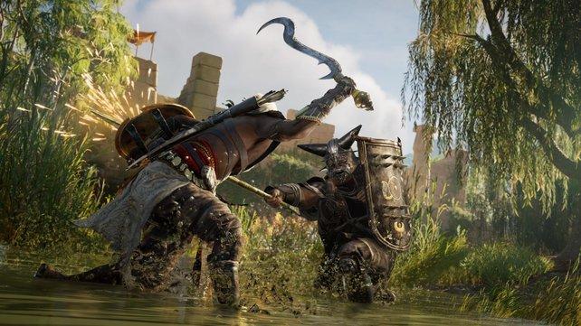 In den elf Teilen der Hauptreihe hat das Kampfsystem von Assassin's Creed viele Änderungen erfahren - und viele Richtungen eingeschlagen.