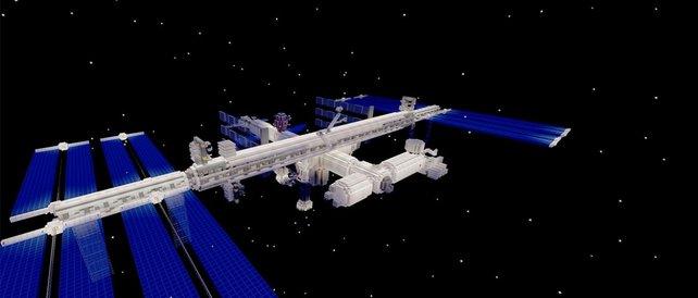 Auch die Internationale Raumstation öffnet ihre Luken für Besucher