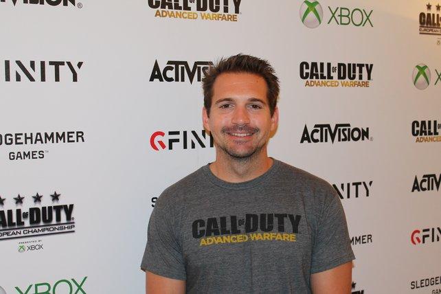 Greg Reisdorf, bei Sledgehammer Games  für die Entwicklung der Mehrspieler-Karten zuständig.