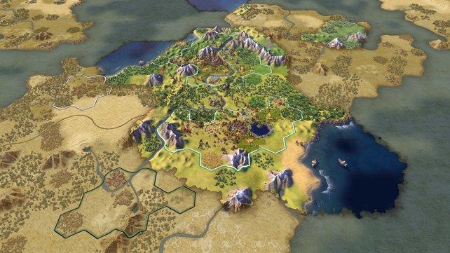 Die Steuerung von Civilization 6 wurde an die Konsolen angepasst.