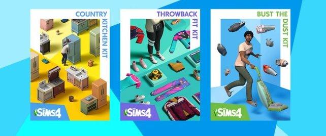 Ein kleiner Einblick auf die kommenden Sets von Die Sims 4.