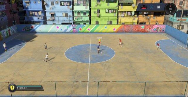 FIFA 18: Vor allem auf der Straße könnt ihr mit Spezialbewegungen und Tricks glänzen.