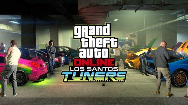 Ran an die Wagen! In GTA Online: Los Santos Tuners muss getunt, gestohlen, gefahren und angegeben werden.