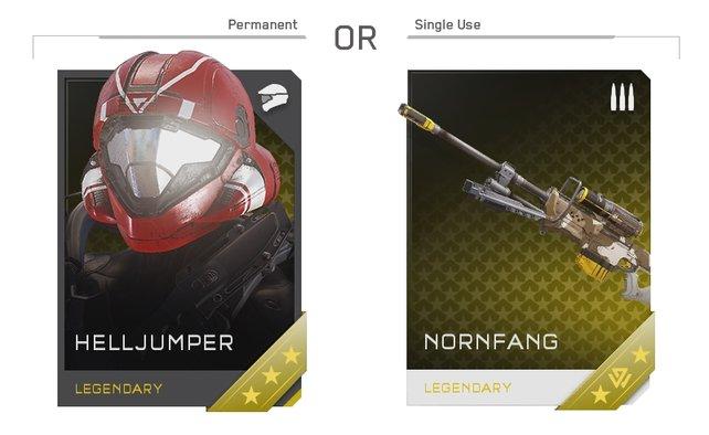 Neue Rüstungsteile für euren Spartan sind immer permanente Gegenstände.