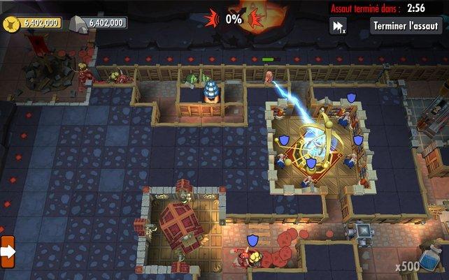 Unmöglich zu spielen: Bei der Mobil-Fassung von Dungeon Keeper rennt ihr direkt in eine Paywall.
