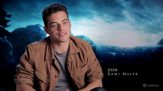 Rami Malek in der Rolle von Joshua Washington. (Quelle: Supermassive Games)