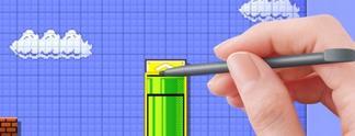 Super Mario Maker: Spiel enthält 100 vorgebaute Levels