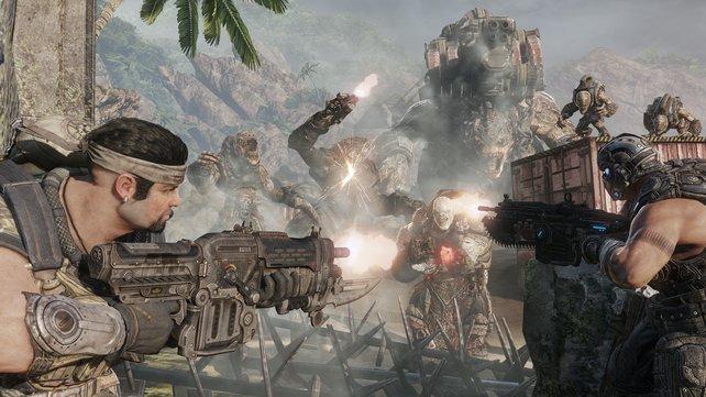 Gears of War 3 ist jetzt auch auf der PS3 spielbar – mit gewissen Einschränkungen.