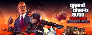 """GTA Online: Actiongeladene Gladiatorenkämpfe mit dem """"Arena War""""-Update"""