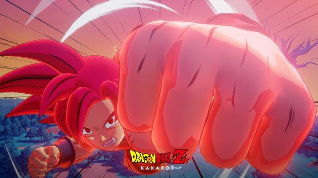 In DLC 1 könnt ihr den SSJ-Gott mit Son-Goku erreichen.