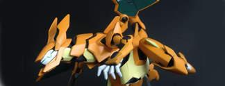 Wenn Pokémon auf Gundam trifft