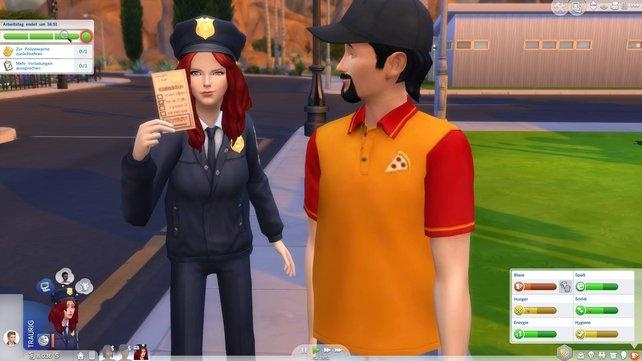 Böse Buben haben es nun schwer bei den Sims.