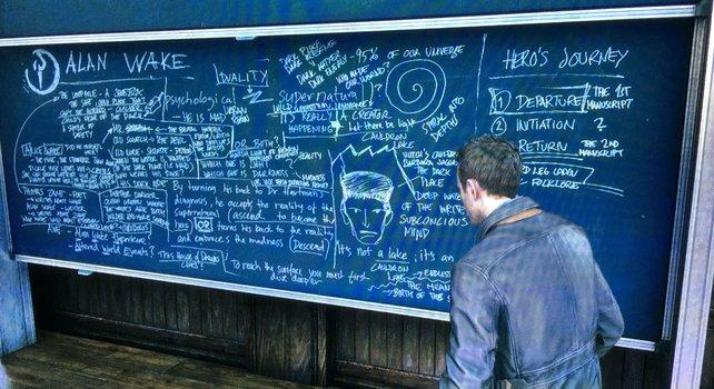 Interessante Literatur-Stunde an der Riverport Universität in Quantum Break.