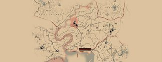 Red Dead Redemption 2: Karte des Spiels geleakt