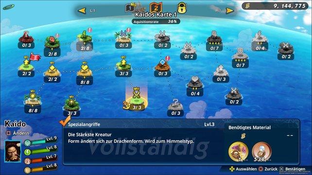 Kaidos Drachenform verbirgt sich hinter dieser Fähigkeit auf Kaidos Karte 1.